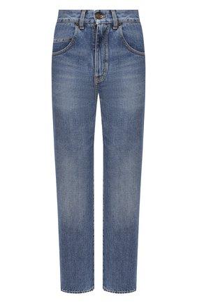 Женские джинсы SAINT LAURENT синего цвета, арт. 635895/Y893V | Фото 1