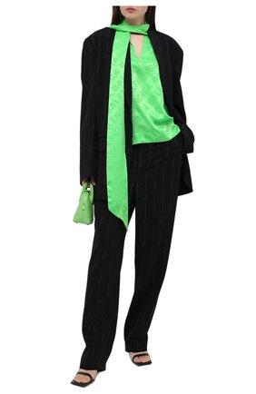 Женский жакет BALENCIAGA черного цвета, арт. 622000/TILT7 | Фото 2