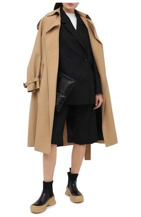 Женские кожаные челси JIL SANDER черного цвета, арт. JP35060A-12102 | Фото 2