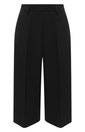 Женские шорты MAISON MARGIELA черного цвета, арт. S51MU0057/S52565 | Фото 1