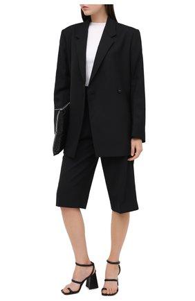 Женские шорты MAISON MARGIELA черного цвета, арт. S51MU0057/S52565 | Фото 2