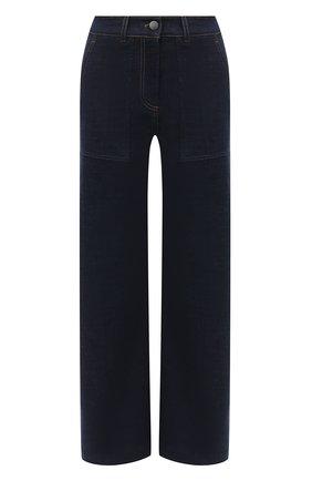 Женские джинсы LORO PIANA темно-синего цвета, арт. FAL3131 | Фото 1