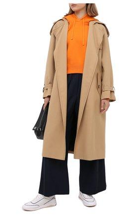 Женские кожаные кроссовки LORO PIANA белого цвета, арт. FAL2805   Фото 2