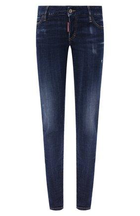 Женские джинсы DSQUARED2 синего цвета, арт. S75LB0350/S30342   Фото 1