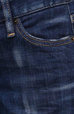 Женские джинсы DSQUARED2 синего цвета, арт. S75LB0350/S30342   Фото 5
