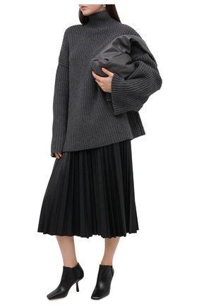 Женские кожаные ботильоны marcelin 85 JIMMY CHOO черного цвета, арт. MARCELIN 85/ZZC | Фото 2
