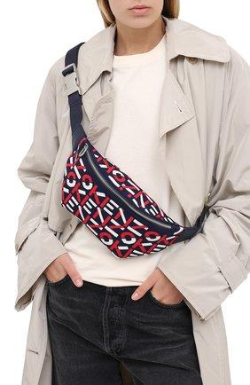 Женская поясная сумка scuba kenzo sport KENZO красного цвета, арт. FA62SA522F10 | Фото 2