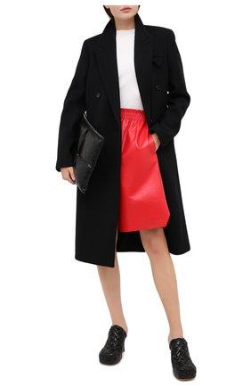 Женские кожаные мюли bv bold BOTTEGA VENETA черного цвета, арт. 630149/VBT10 | Фото 2