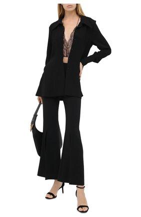 Женские брюки ROLAND MOURET черного цвета, арт. PW20/S0236/F2241 | Фото 2