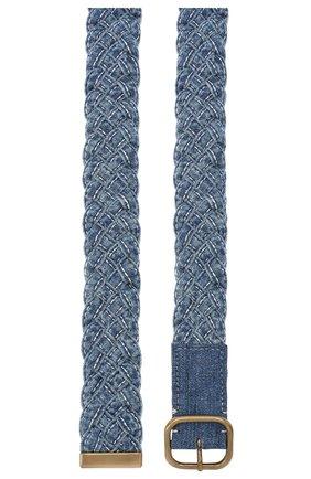 Женский ремень PHILOSOPHY DI LORENZO SERAFINI синего цвета, арт. A3008/5731 | Фото 2