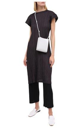 Женские брюки ISSEY MIYAKE черного цвета, арт. PP08-JF412 | Фото 2