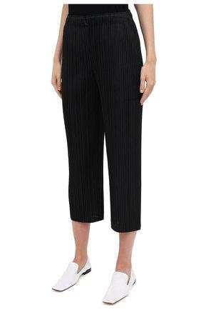 Женские брюки ISSEY MIYAKE черного цвета, арт. PP08-JF412 | Фото 3
