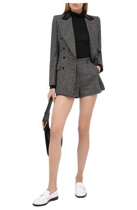 Женские шерстяные шорты DOLCE & GABBANA серого цвета, арт. FTBWIT/FMMFU | Фото 2