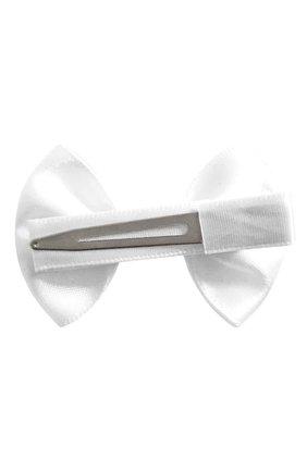Детская заколка-зажим bowtie bow MILLEDEUX белого цвета, арт. 029-SGLC-03 | Фото 2