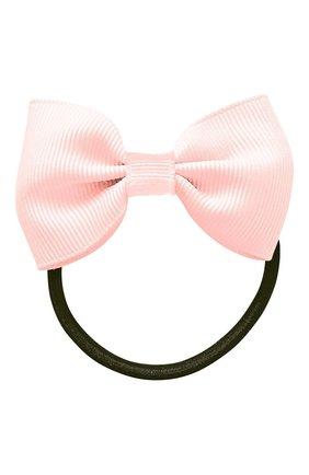 Детская резинка bowtie bow MILLEDEUX светло-розового цвета, арт. 115-CGC-05 | Фото 1