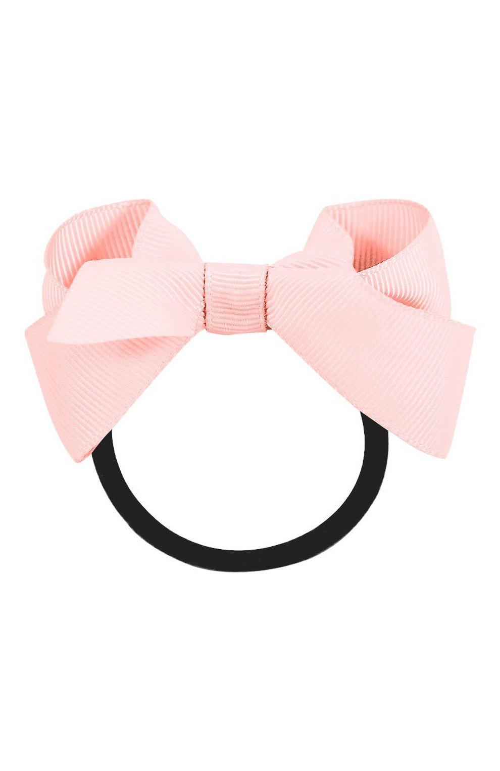 Детская резинка boutique bow MILLEDEUX светло-розового цвета, арт. 115-CGC-06 | Фото 1