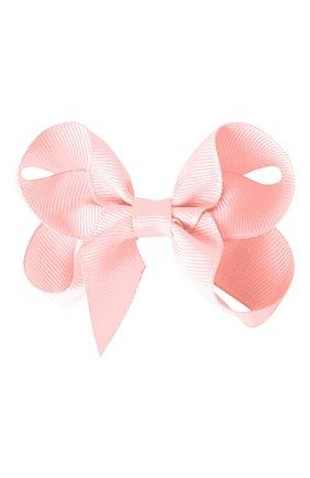 Детская резинка boutique bow MILLEDEUX светло-розового цвета, арт. 115-CGC-06 | Фото 2