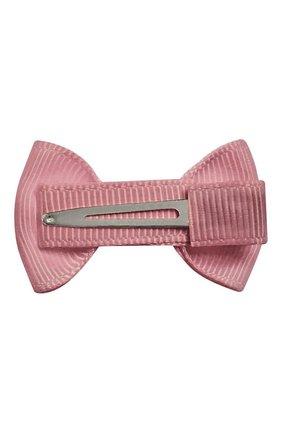 Детская заколка-зажим bowtie bow MILLEDEUX розового цвета, арт. 158-CGC-19 | Фото 2