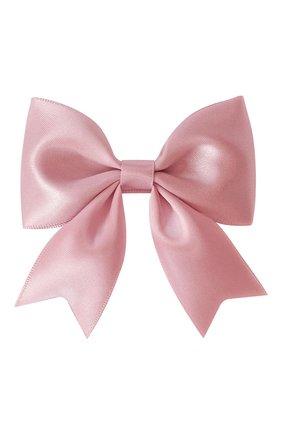 Детская заколка-зажим bowtie bow MILLEDEUX розового цвета, арт. 158-SC-13 | Фото 1