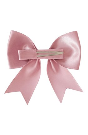 Детская заколка-зажим bowtie bow MILLEDEUX розового цвета, арт. 158-SC-13 | Фото 2