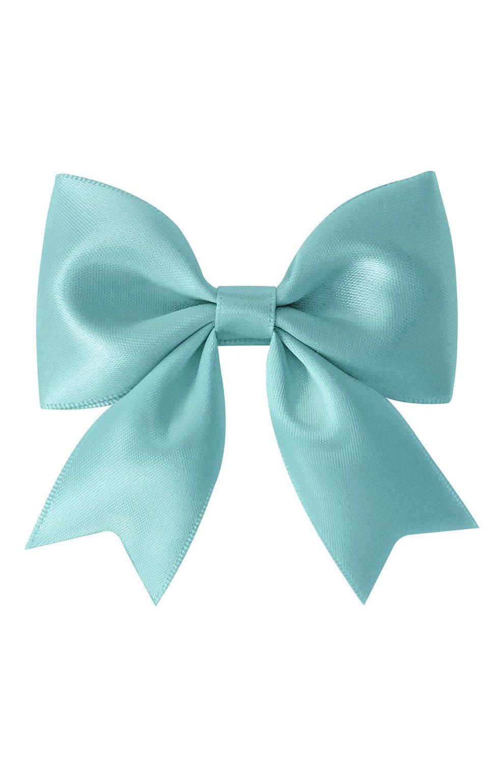 Детская заколка-зажим bowtie bow MILLEDEUX бирюзового цвета, арт. 331-SC-13 | Фото 1