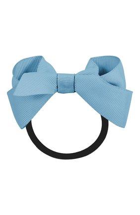 Детская резинка boutique bow MILLEDEUX голубого цвета, арт. 332-CGC-06 | Фото 1