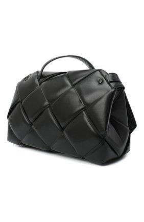 Женская сумка bv handle BOTTEGA VENETA черного цвета, арт. 632647/VCQR1   Фото 3