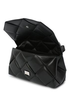 Женская сумка bv handle BOTTEGA VENETA черного цвета, арт. 632647/VCQR1   Фото 4