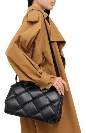 Женская сумка bv handle BOTTEGA VENETA черного цвета, арт. 632647/VCQR1   Фото 5