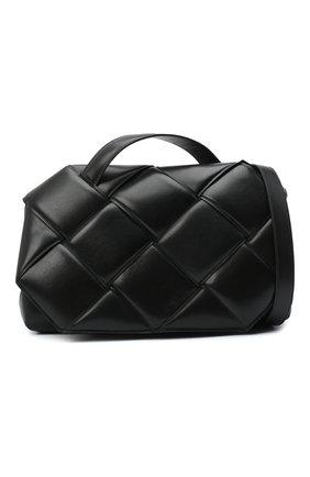 Женская сумка bv handle BOTTEGA VENETA черного цвета, арт. 632647/VCQR1   Фото 6