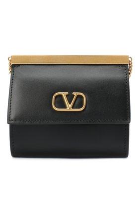 Женские кошелек на цепочке valentino garavani VALENTINO черного цвета, арт. UW2P0U25/TRC | Фото 1