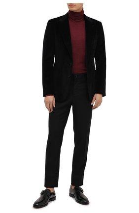 Мужские кожаные монки DOLCE & GABBANA черного цвета, арт. A10644/A1203 | Фото 2