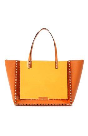Женский сумка valentino garavani rockstud VALENTINO оранжевого цвета, арт. UW2B0H21/PKY | Фото 1