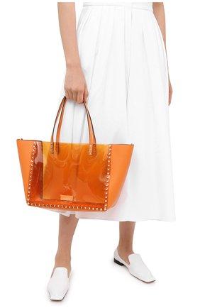 Женский сумка valentino garavani rockstud VALENTINO оранжевого цвета, арт. UW2B0H21/PKY | Фото 2