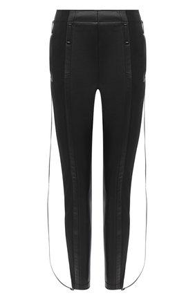 Женские брюки BURBERRY черного цвета, арт. 8029897 | Фото 1