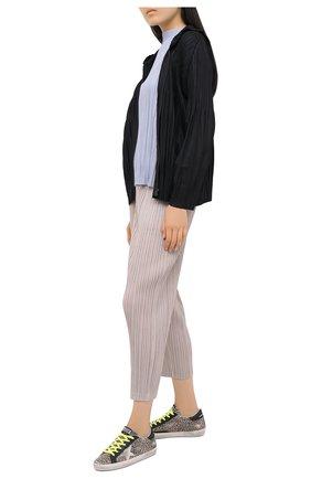 Женские кожаные кеды superstar GOLDEN GOOSE DELUXE BRAND коричневого цвета, арт. GWF00101.F000161 | Фото 2