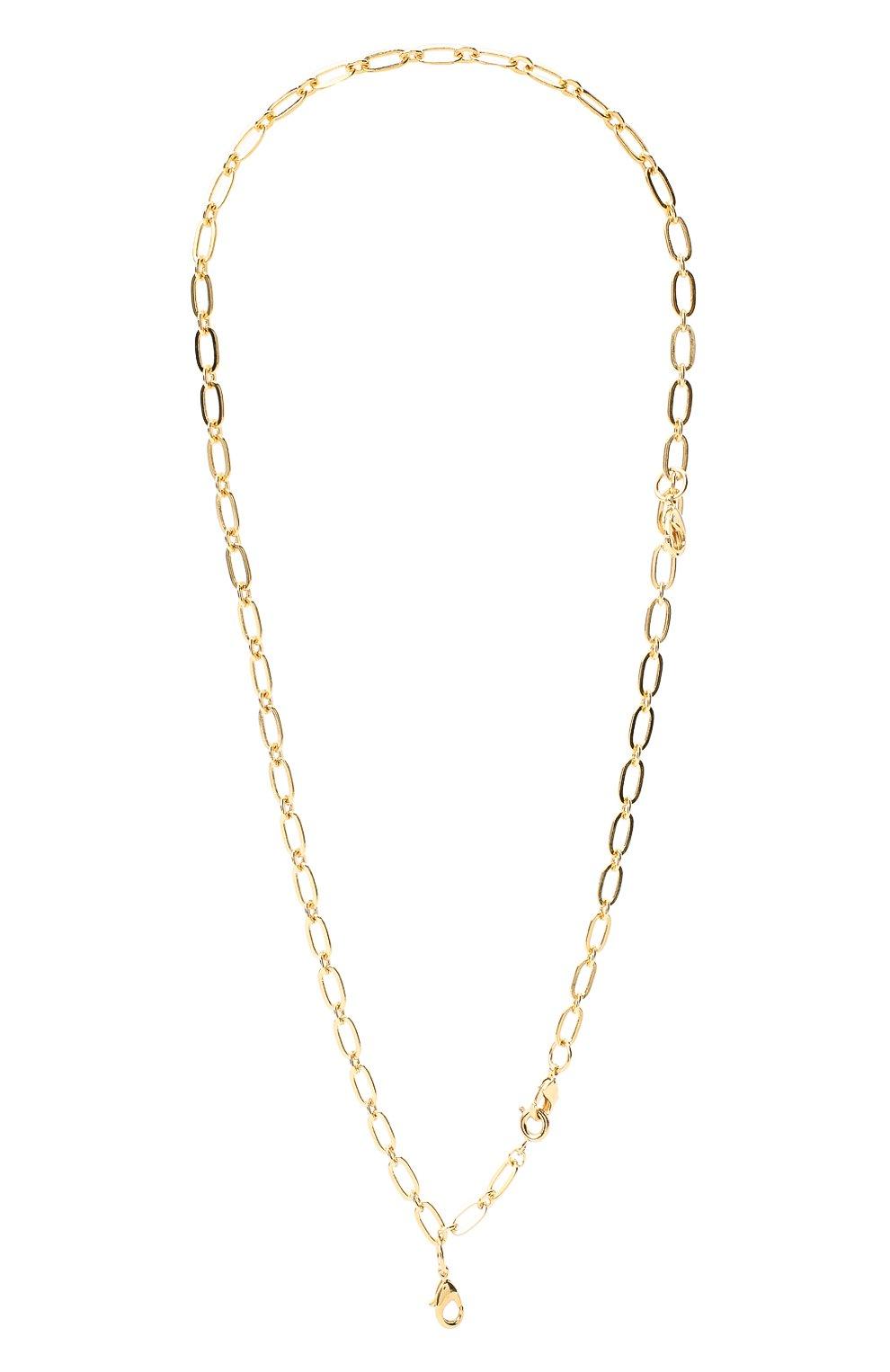 Женское колье HYPSO золотого цвета, арт. C0LLIER 3 M0USQUET0NS | Фото 1