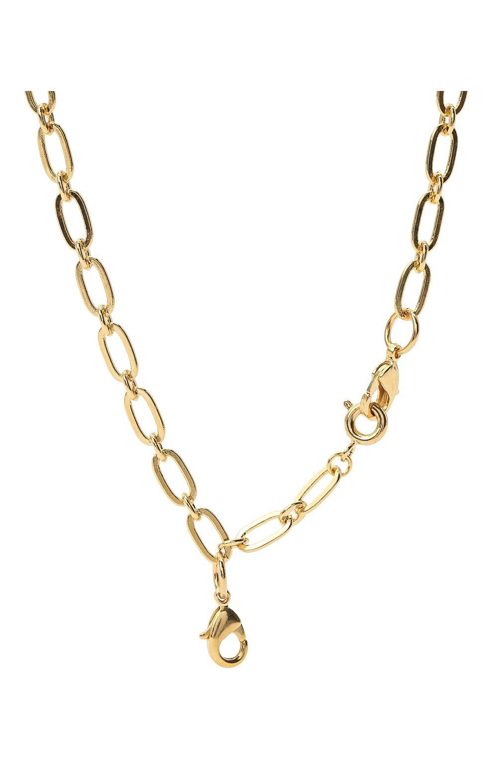 Женское колье HYPSO золотого цвета, арт. C0LLIER 3 M0USQUET0NS | Фото 2
