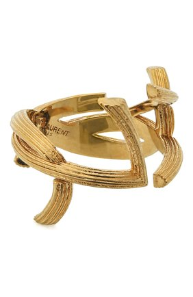 Женское кольцо SAINT LAURENT золотого цвета, арт. 584067/Y1500 | Фото 1
