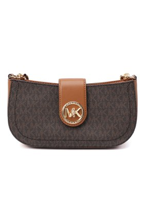 Женская сумка carmen MICHAEL MICHAEL KORS коричневого цвета, арт. 32S0GNMU0B   Фото 1