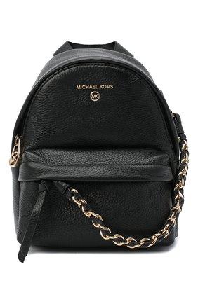 Женский рюкзак slater small MICHAEL MICHAEL KORS черного цвета, арт. 30T0G04B0L | Фото 1