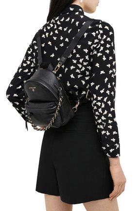 Женский рюкзак slater small MICHAEL MICHAEL KORS черного цвета, арт. 30T0G04B0L | Фото 2