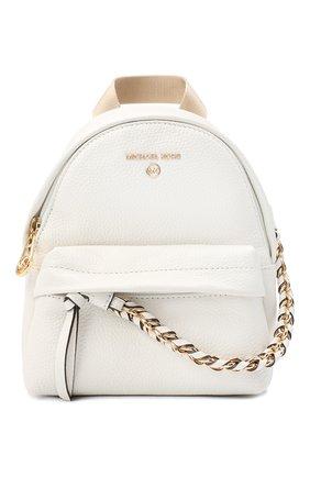 Женский рюкзак slater small MICHAEL MICHAEL KORS белого цвета, арт. 30T0G04B0L | Фото 1