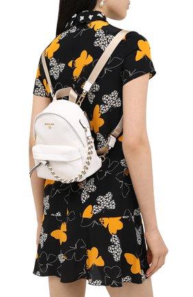 Женский рюкзак slater small MICHAEL MICHAEL KORS белого цвета, арт. 30T0G04B0L | Фото 2