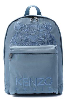 Женский рюкзак kampus KENZO голубого цвета, арт. FA65SF300F20 | Фото 1