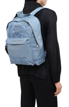 Женский рюкзак kampus KENZO голубого цвета, арт. FA65SF300F20 | Фото 2