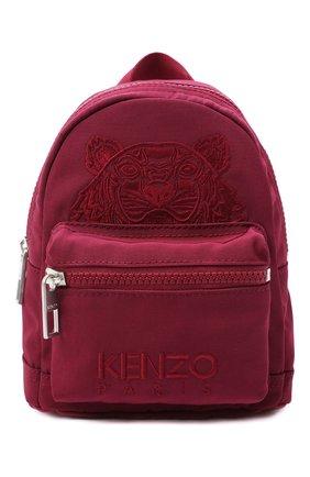 Женский рюкзак kampus mini KENZO бордового цвета, арт. FA65SF301F20 | Фото 1