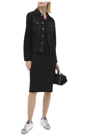 Женское платье RAG&BONE черного цвета, арт. WCC20P3056JR56 | Фото 2
