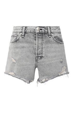 Женские джинсовые шорты RAG&BONE светло-серого цвета, арт. WDD20P1902D3AH | Фото 1