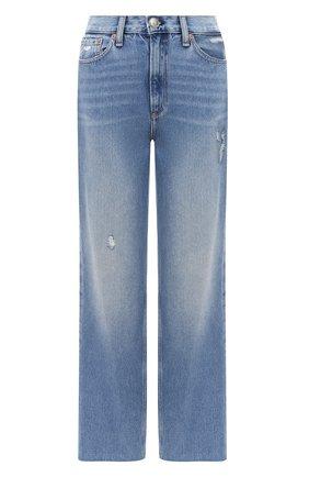 Женские джинсы RAG&BONE синего цвета, арт. WDD20P2665D6BR | Фото 1